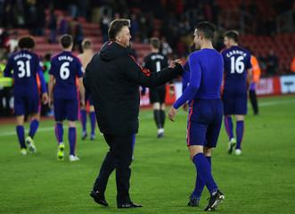 Southampton v Manchester United - Barclays Premier League