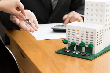 Mortgage condo concept