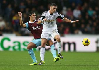 Swansea City v West Ham United - Barclays Premier League