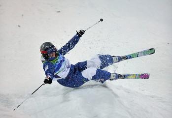 CANADA-VANCOUVER-WINTER OLYMPICS-FREESTYLE SKI-WOMEN'S MOGULS-FINAL