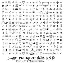 MEGA set of doodles. Super collection of arrow ,business and finance, social media shopping elements. Creative eps10
