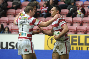 Wigan Warriors v Wakefield Trinity Wildcats Stobart Super League