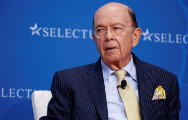 Secretary of Commerce Wilbur Ross speaks at 2017 SelectUSA Investment Summit in Oxon Hill, Maryland