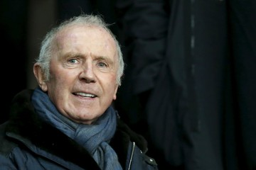 French businessman Pinault is pictured before the French Ligue 1 soccer match between Stade Rennes and Paris St Germain at the Roazhon Park stadium in Rennes
