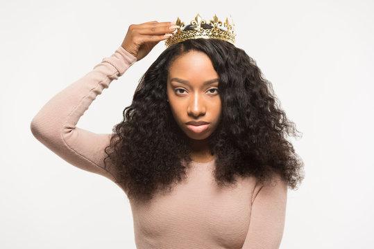 Young Black Princess