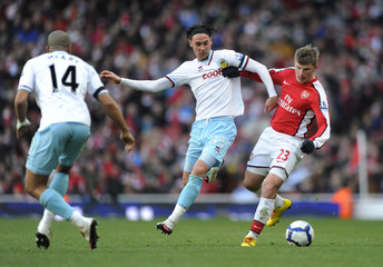 Arsenal v Burnley Barclays Premier League