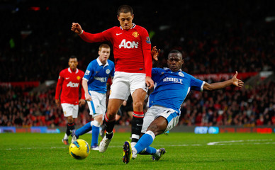 Manchester United v Wigan Athletic Barclays Premier League