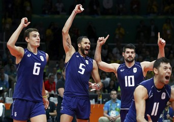 Volleyball - Men's Gold Medal Match Italy v Brazil