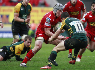 Llanelli Scarlets v Northampton Saints Heineken European Cup Pool One