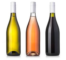 Fototapeta wine  bottle isolated