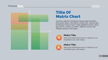 Matrix Chart Presentation Slide Template