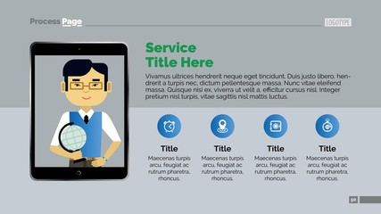 Services Slide Template 2