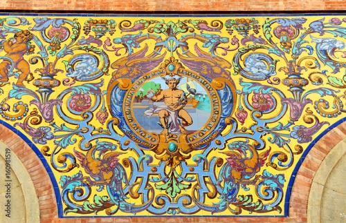 azulejos en la estaci n de jerez de la frontera espa a ForAzulejos Jerez De La Frontera