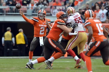 NFL: San Francisco 49ers at Cleveland Browns