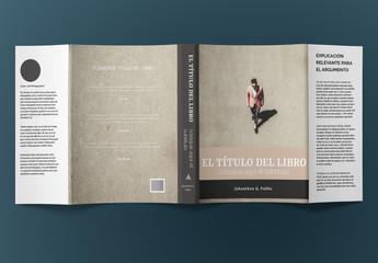 Diseño de sobrecubierta de libro