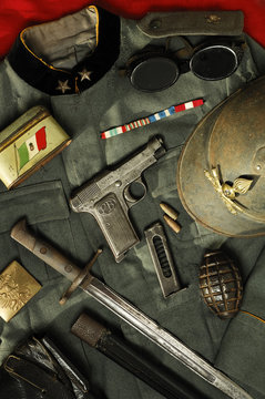 WWI war relics