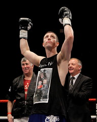 Carl Frampton v Mark Quon Commonwealth Super Bantamweight Title