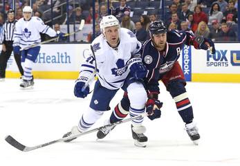 NHL: Toronto Maple Leafs at Columbus Blue Jackets