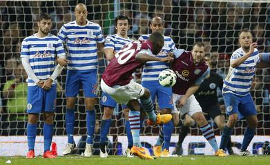 Aston Villa v Queens Park Rangers - Barclays Premier League