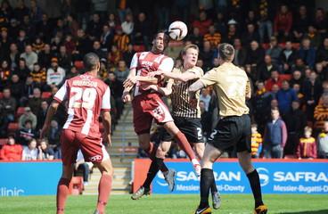 Cheltenham Town v Bradford City - npower Football League Two