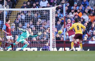 Aston Villa v Arsenal Barclays Premier League