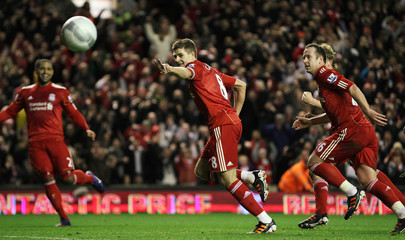 Liverpool v Manchester City Carling Cup Semi Final Second Leg
