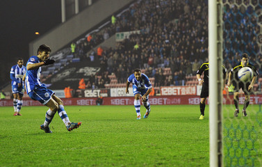 Wigan Athletic v Sheffield Wednesday - Sky Bet Football League Championship