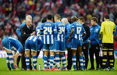 Arsenal v Wigan Athletic - FA Cup Semi Final