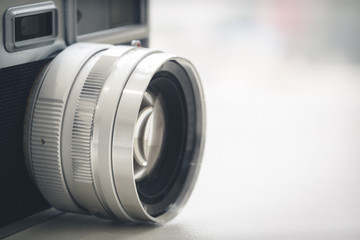 Vintage style film camera