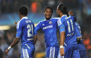 Chelsea v SL Benfica UEFA Champions League Quarter Final Second Leg