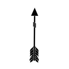 rustic arrow with ornamental design