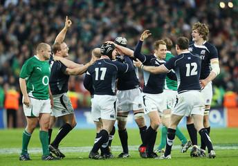 Ireland v Scotland RBS Six Nations Championship