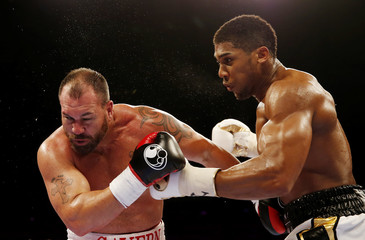 Anthony Joshua v Jason Gavern