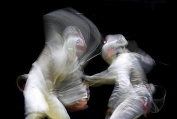 Fencing - Men's Foil Team Classifications