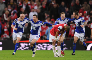 Arsenal v Birmingham City Carling Cup Final