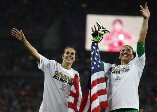 United States of America v Japan London 2012 Women's Olympic Football Tournament Gold Medal Match