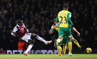 West Ham United v Norwich City - Barclays Premier League