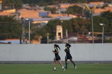 Football - Women's training - Group