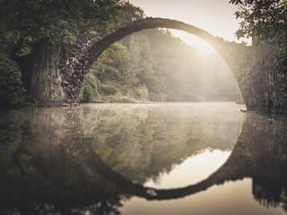 Rakotzbrücke Brücke Kromlau Sachsen