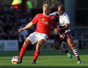 Crewe Alexandra v Aston Villa - Pre Season Friendly