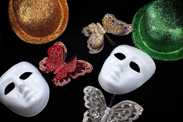 Masks and other party decorations