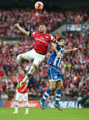 Arsenal v Wigan Athletic - FA Cup Semi Final