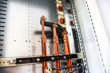 Copper busbar for power and distribution