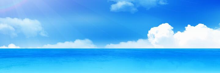 海 空 風景 背景