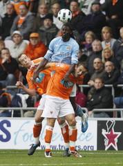 Blackpool v Manchester City Barclays Premier League