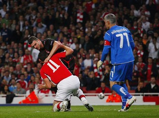 Arsenal v Olympiakos UEFA Champions League Group Stage Matchday Two Group H