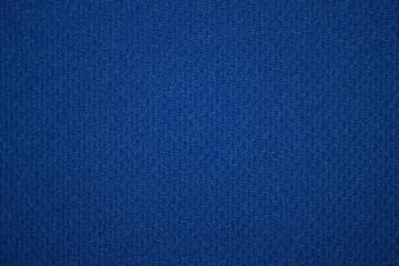 текстура яркой, насыщенной синей ткани крупным планом