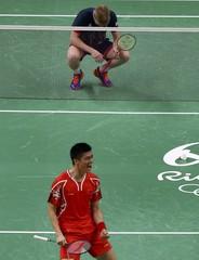 Badminton - Men's Doubles Semifinals
