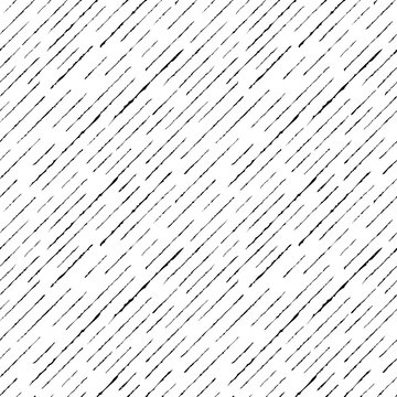 Abstract seamless pattern. Texture of a scratch, curved stripes on a white background. Vector illustration.