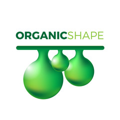 Organic slime vector